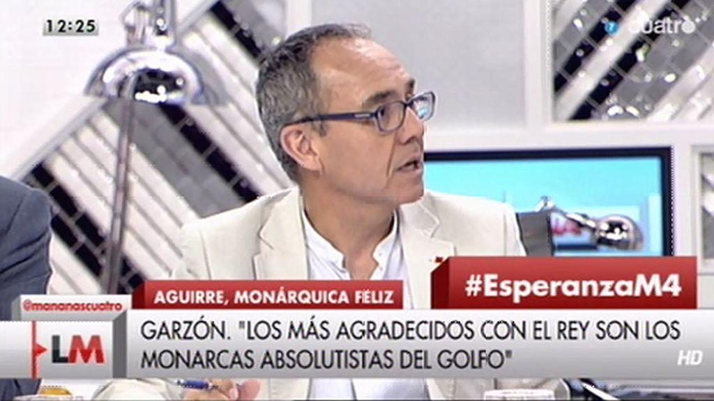 """Coscubiela: """"Aguirre expresa la ruptura del vínculo entre determinadas élites y la gente"""""""