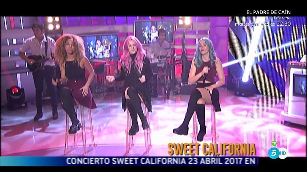 Sweet California interpreta su canción 'Vuelves' en '¡Qué tiempo tan feliz!'