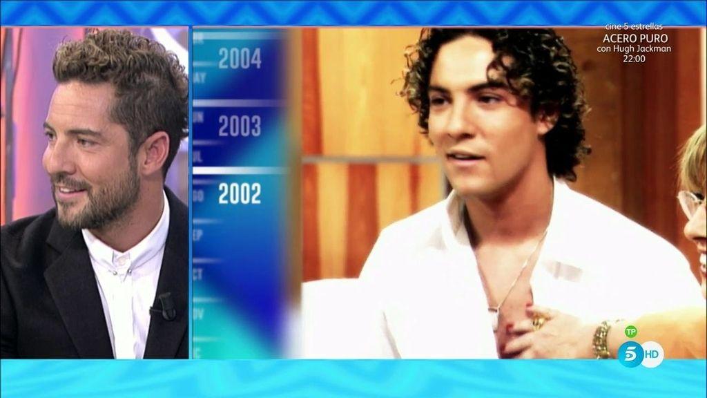¿Cómo ha cambiado el 'look' de David Bisbal a lo largo de los años?