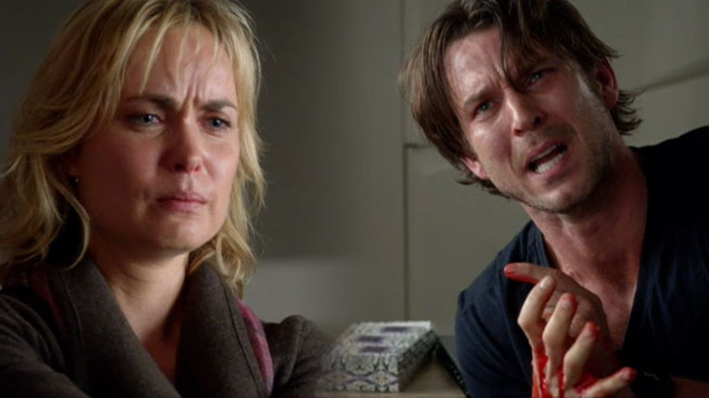 Marta dispara a su hermano y se deshace de toda la cocaína de Schiller