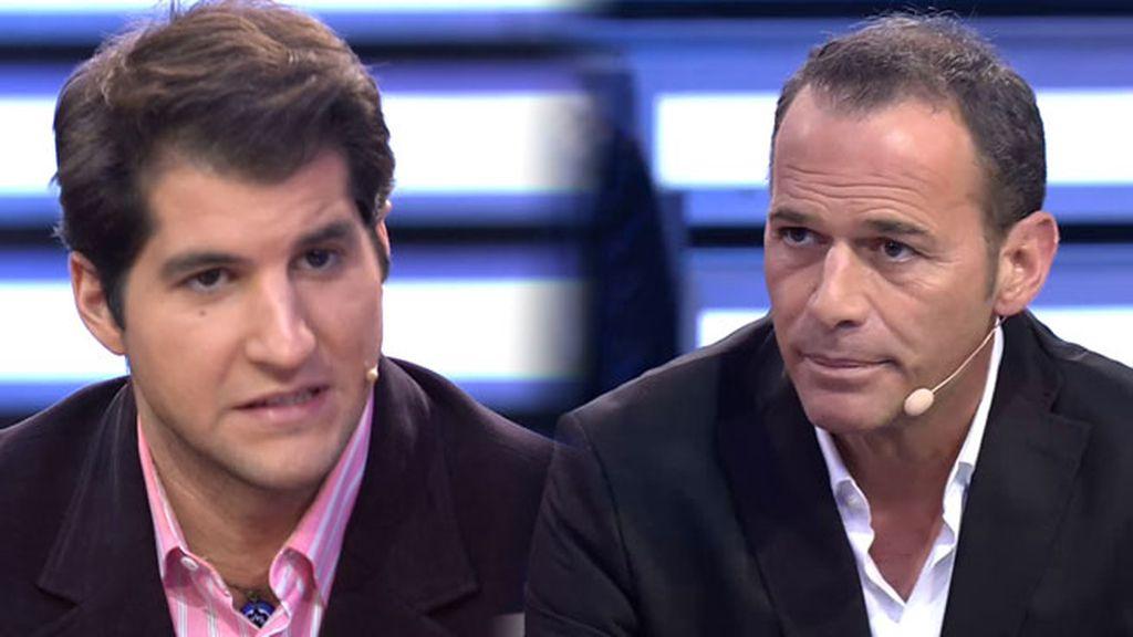 """Julián Contreras se enfrenta a Carlos Lozano: """"Tú aquí no pintas nada"""""""
