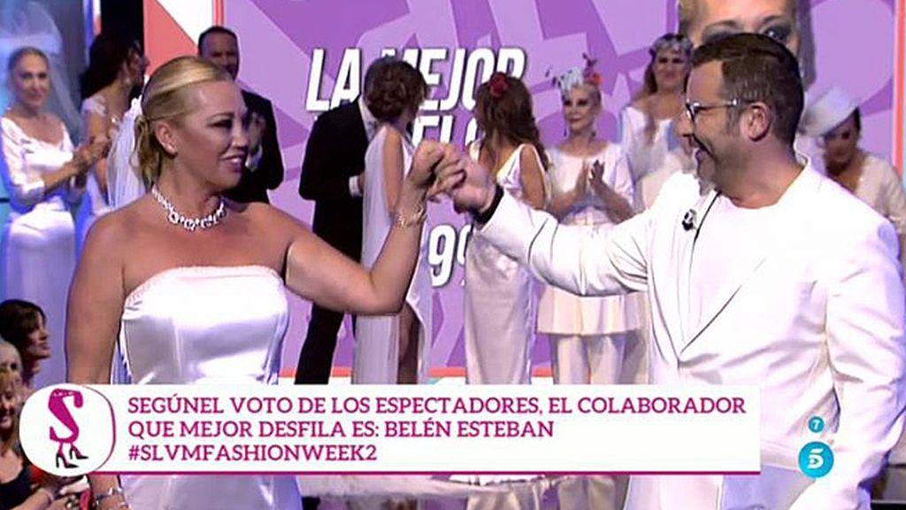 Belén Esteban, ganadora de la segunda edición de la 'SLVM Fashion Week'