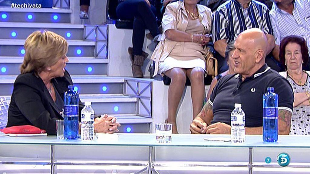 Chelo Gª Cortés abandona el plató entre lágrimas por un comentario de Matamoros