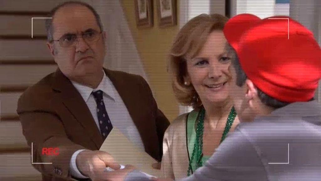 Zabaleta recibe una carta de 'Hay una cosa que te quiero decir'