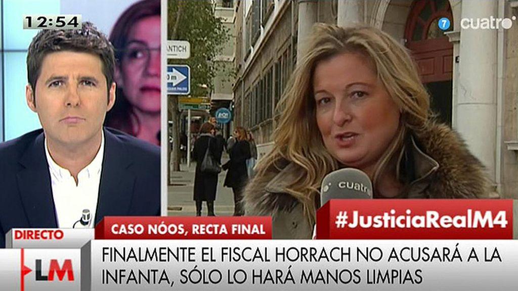 """López Negrete: """"Estamos respaldados en nuestra acusación contra la Infanta"""""""