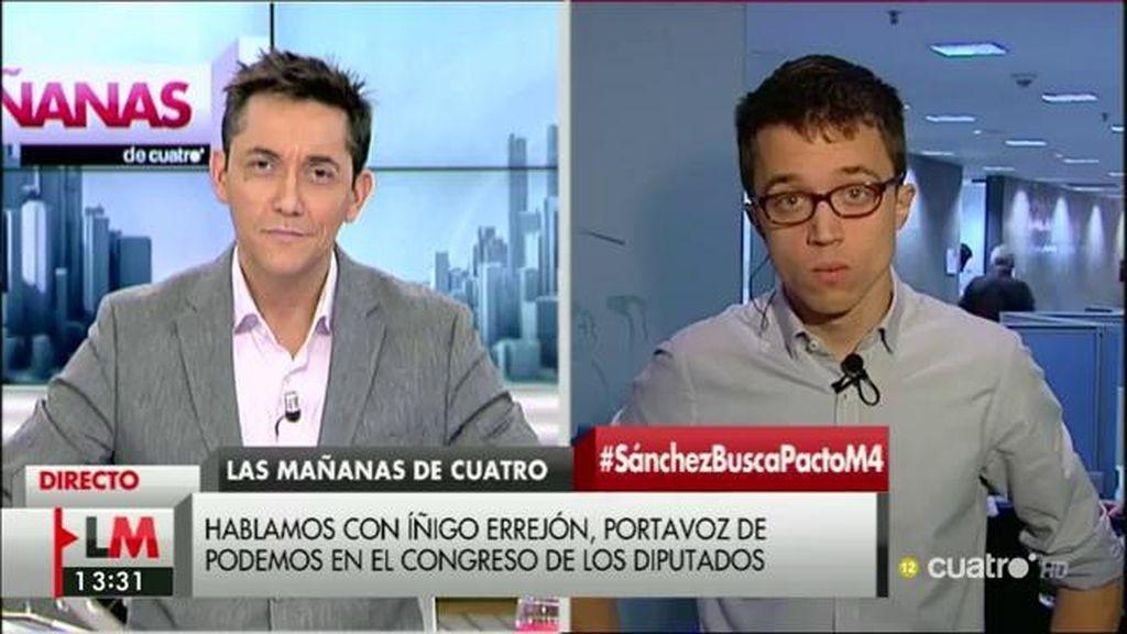 La entrevista con Íñigo Errejón, a la carta