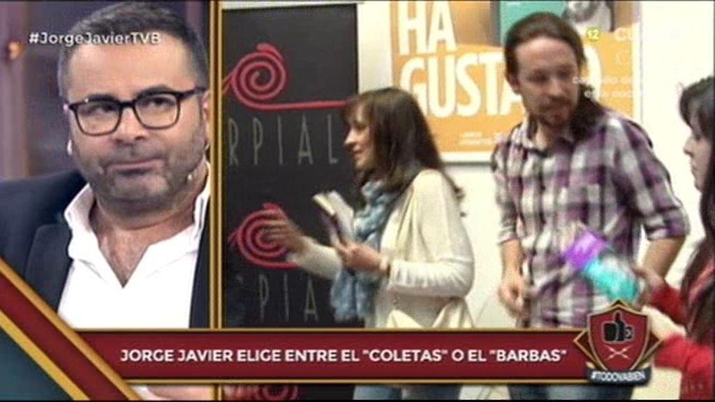 """Jorge Javier: """"No entiendo a la gente que critica a Pablo Iglesias"""""""