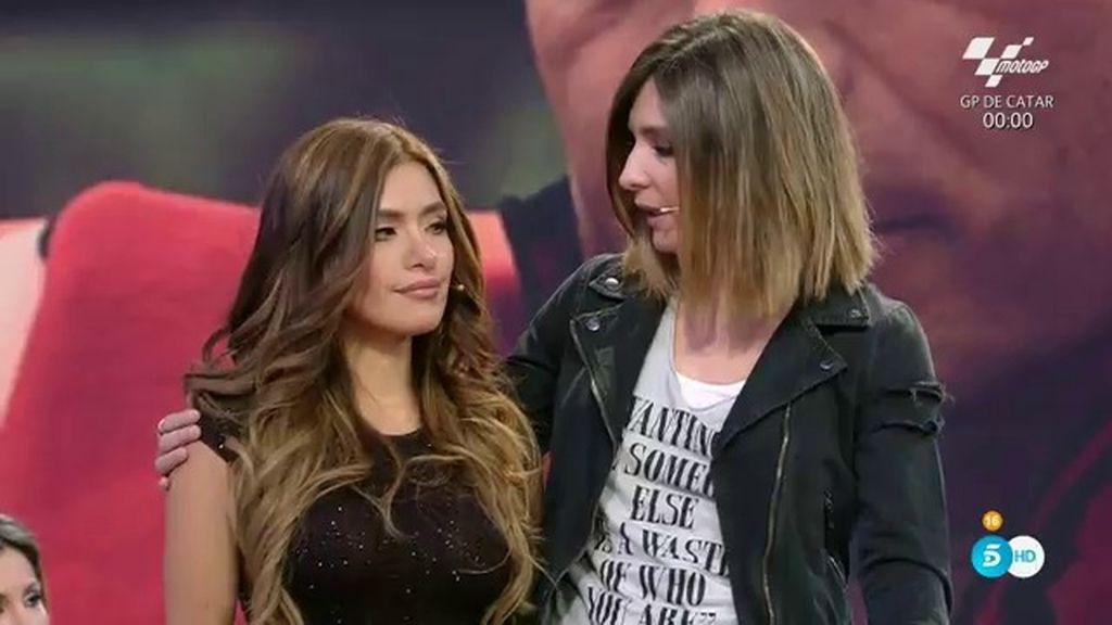 """Miriam, novia de Carlos Lozano: """"Solo he venido para verle a él"""""""