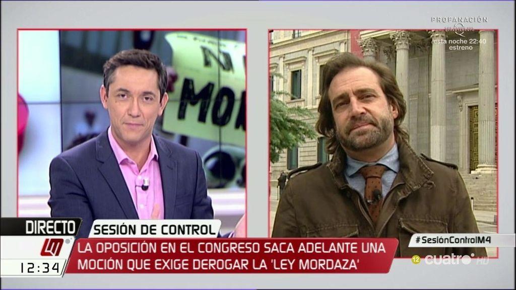 """L. Arroyo: """"El Gobierno se lo seguirá pasando en grande mientras no haya una alternativa"""""""