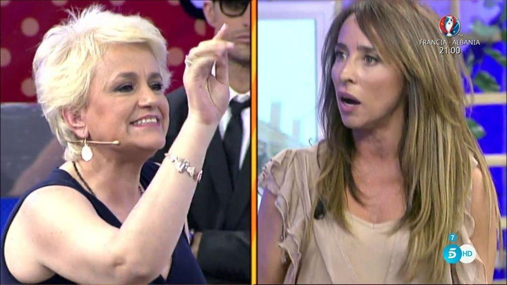 "María Patiño, a Joana: ""Te doy 5.000€ si eres capaz de demostrar que he hablado de ti"""
