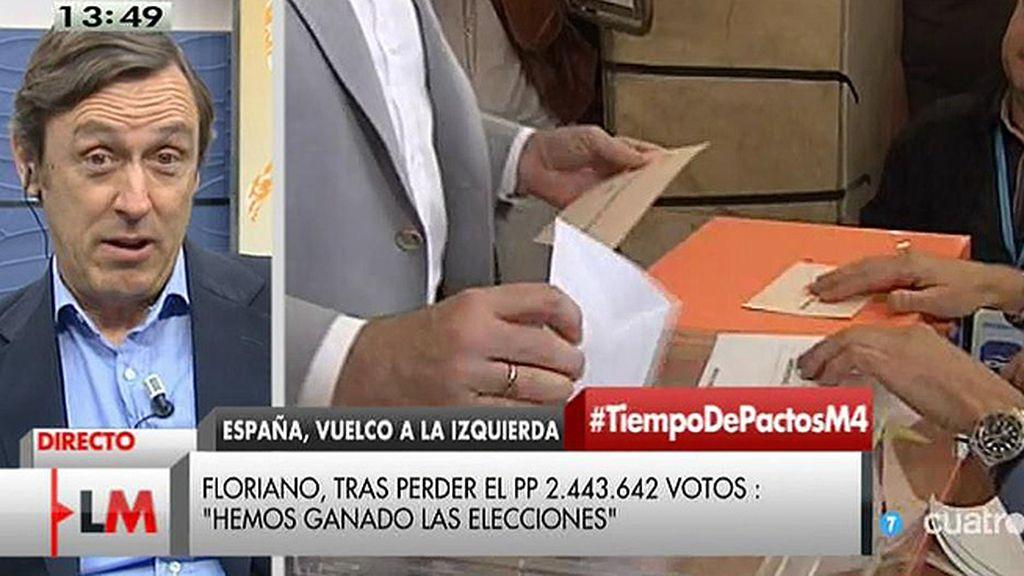 """R. Hernando: """"El PP es el partido en torno al cual giran la mayoría de las posibilidades de estabilidad"""""""