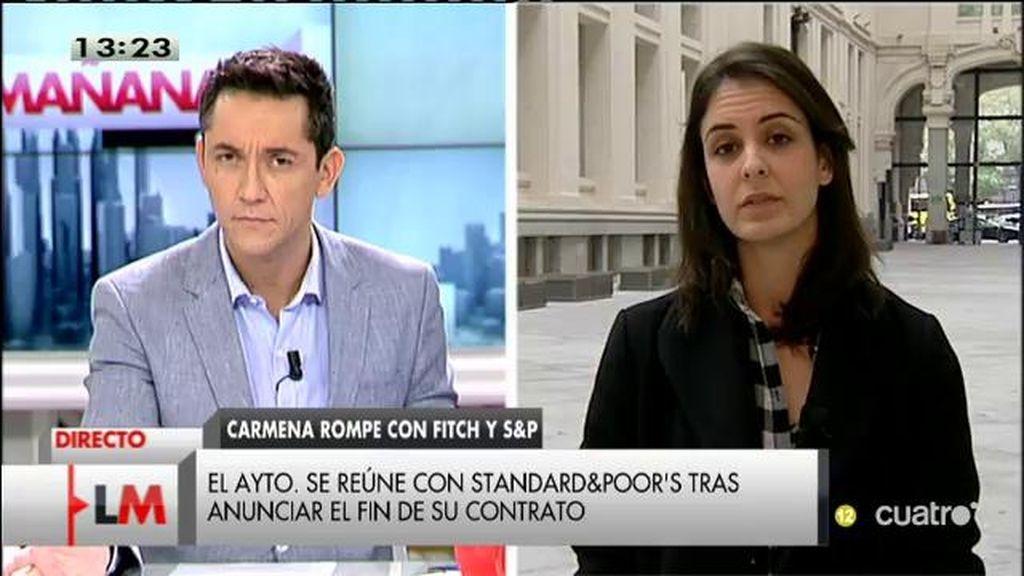 """Rita Maestre: """"La voluntad del equipo de gobierno es no endeudarnos más"""""""