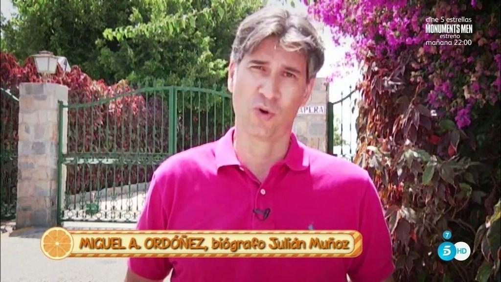 """Miguel A. Ordóñez, biógrafo de Julián Muñóz: """"Lo que ha contado Dulce no me cuadra"""""""