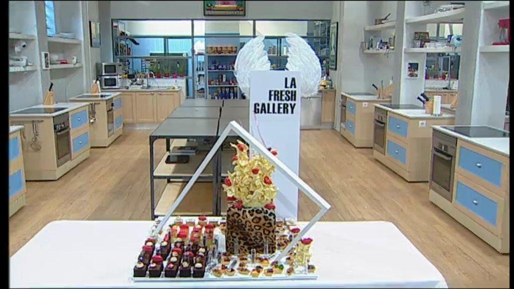 El brownie decorado con besos y pintalabios de chocolate, la favorita de Topacio Fresh