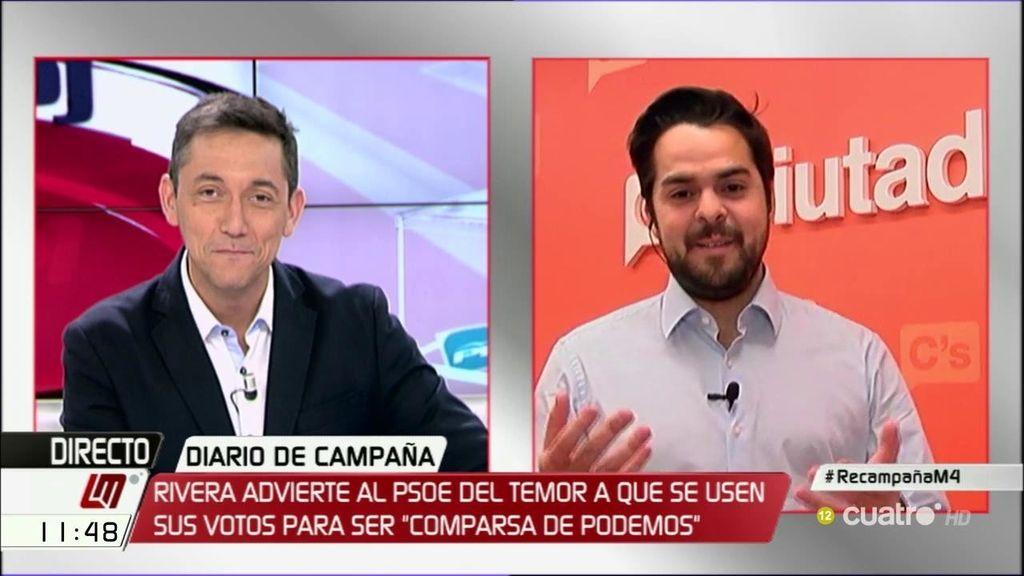 La entrevista de Fernando de Páramo, a la carta