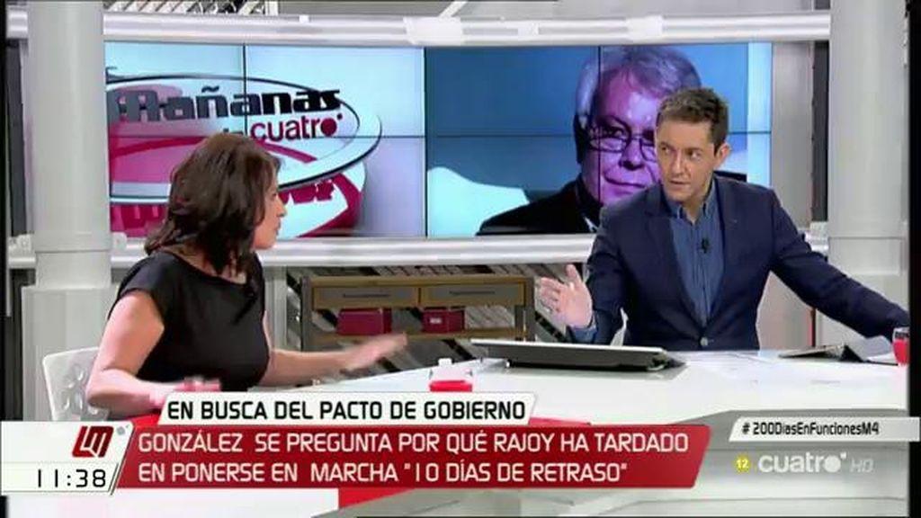 """A. Lastra (PSOE): """"El PSOE de forma unánime o casi unánime ha decidido que no es no, no vamos a apoyar al PP"""""""