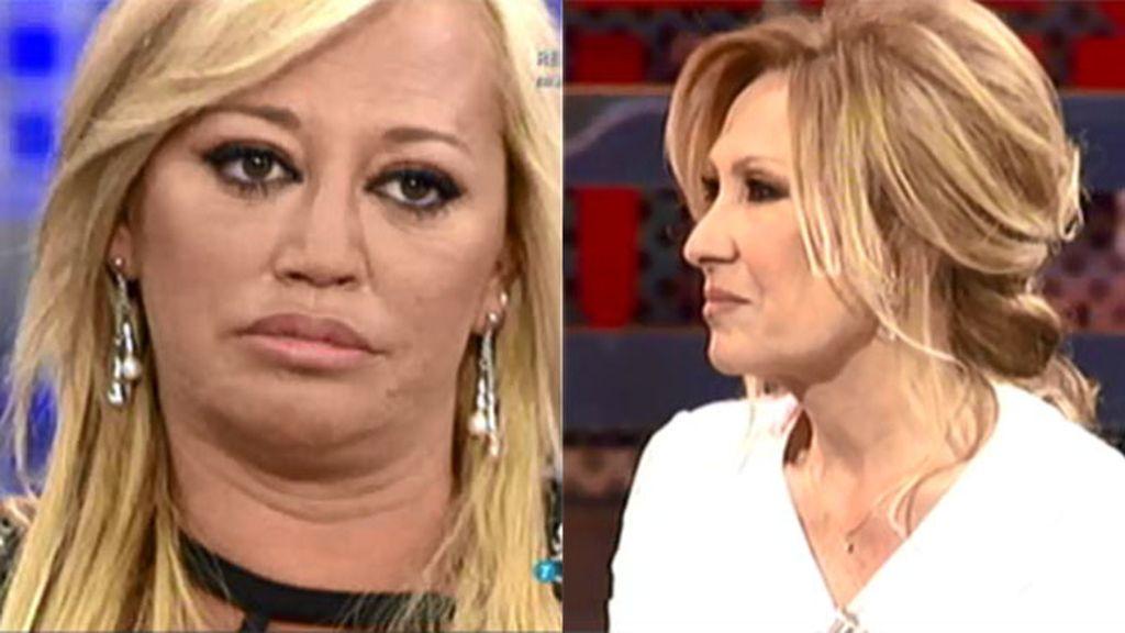 'Sálvame' compara las audiencias conseguidas por Belén y Rosa