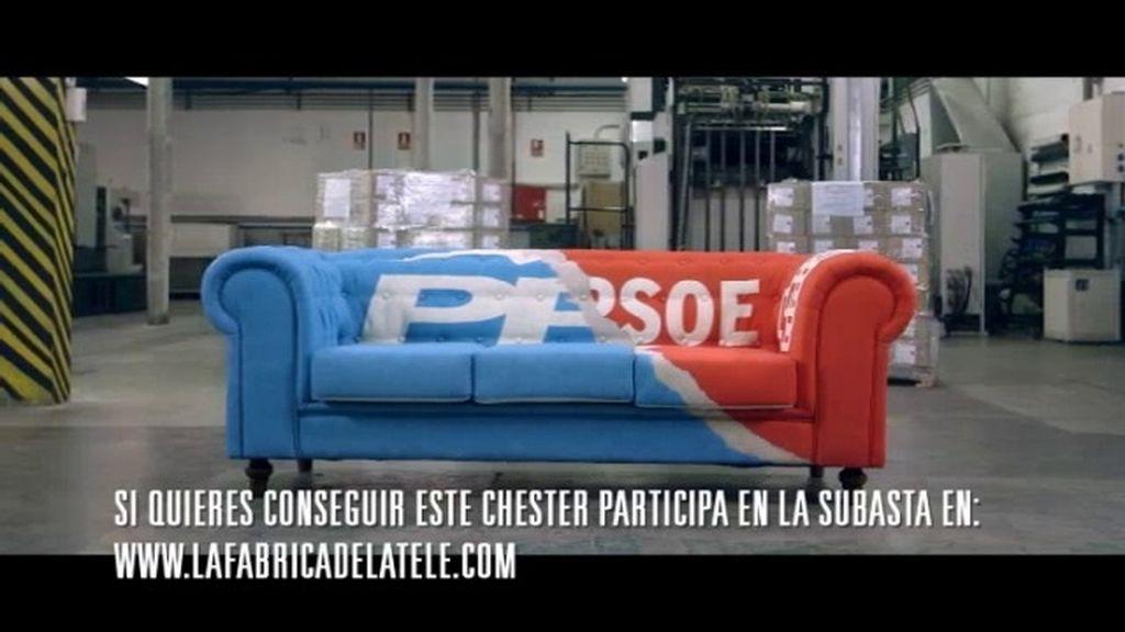 ¿Quieres el chester en el que se ha sentado Cristina Cifuentes y Ángel Gabilondo?