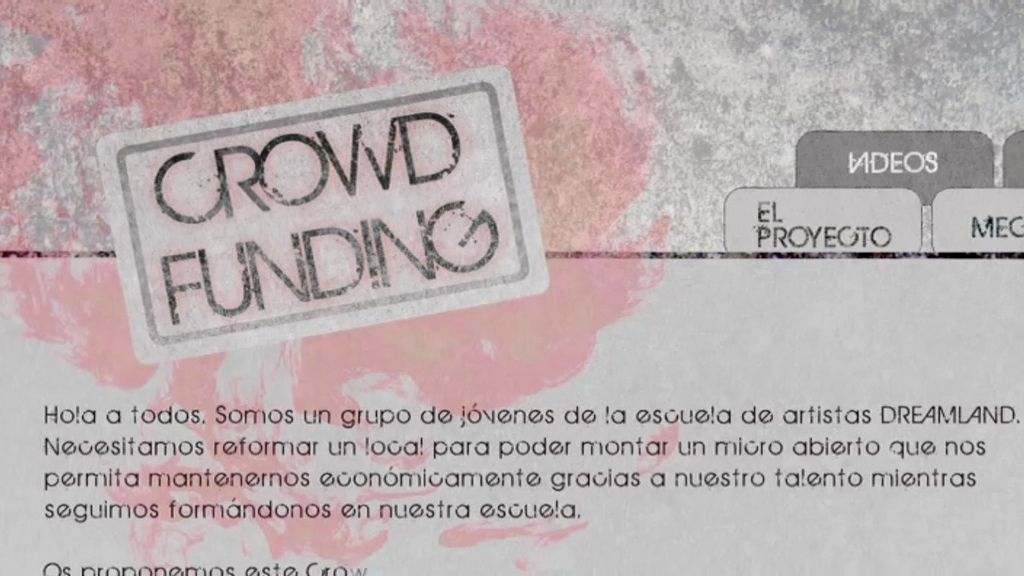 Hugo crea un 'crowfunding' para salvar a la escuela de la quiebra
