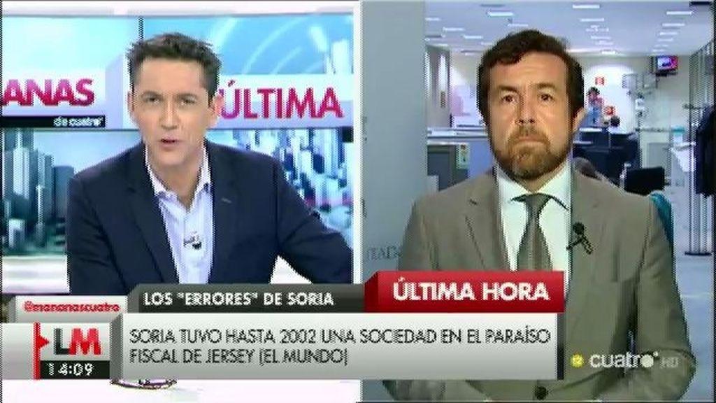 La entrevista de Gutiérrez, a la carta