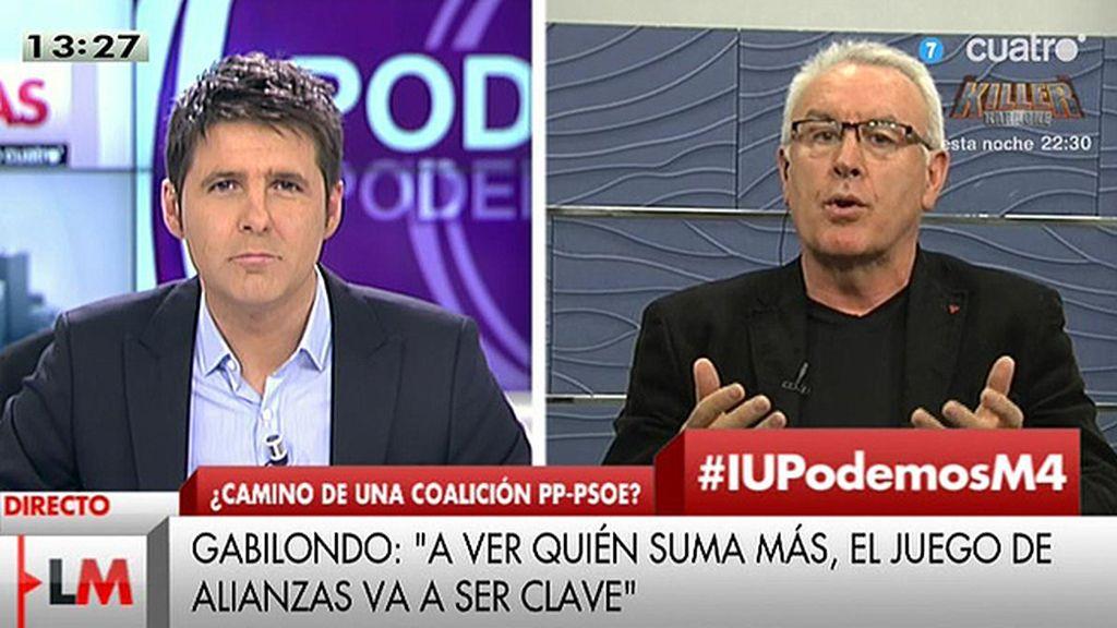 ¿Qué opina Cayo Lara de Alberto Garzón, Pablo Iglesias, Pedro Sánchez o Rajoy?