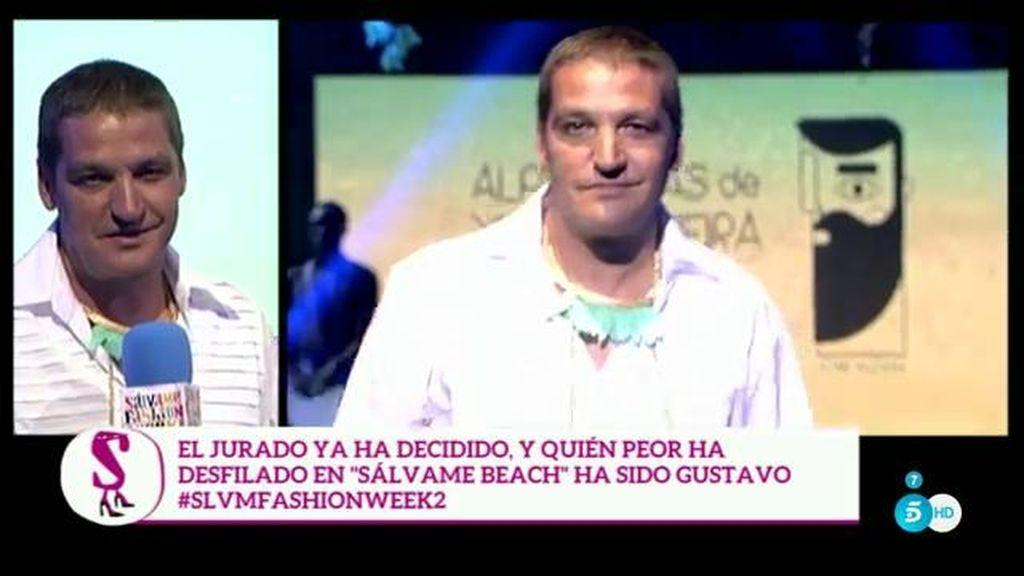 Gustao Gónzalez elegido como el 'peor' modelo, otra vez