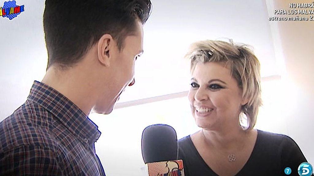 """Terelu Campos: """"Me voy a hacer una camiseta que diga """"No estoy con Carlos"""""""