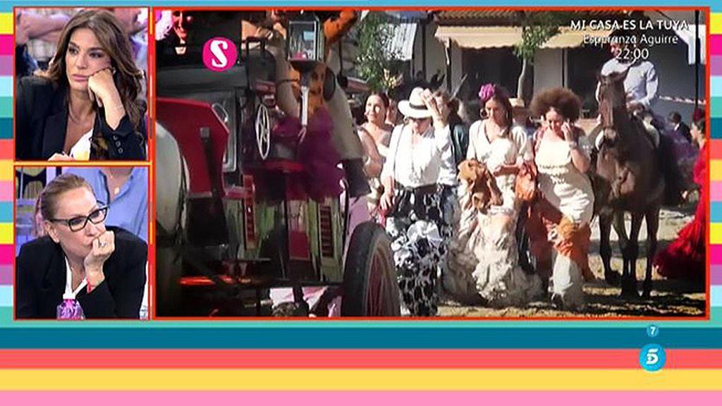 Así han disfrutado Rosa Benito y Raquel Bollo de 'El Rocío'