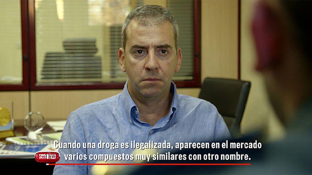 "Un capitán de la Guardia Civil: ""No son drogas legales, son drogas alegales"""
