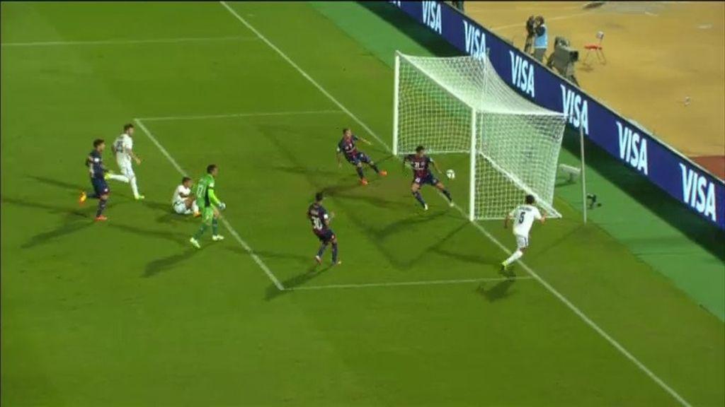 El madrileño Ángel Berlanga empata ante San Lorenzo con un golazo sin ángulo