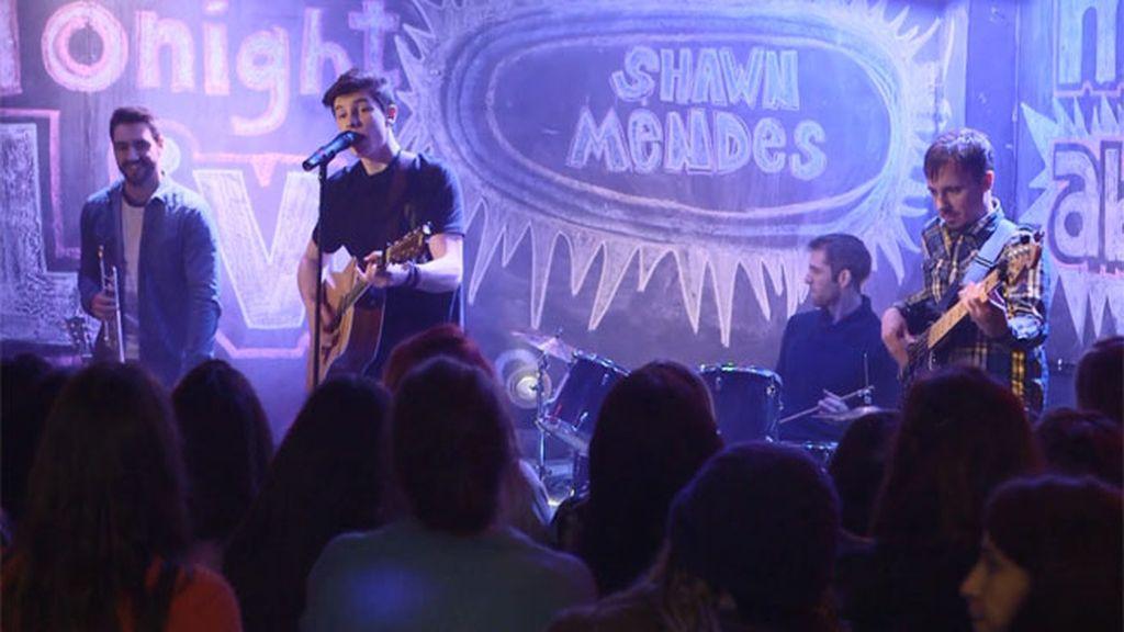 La esperada actuación de Shawn Mendes revoluciona el instituto de Lana