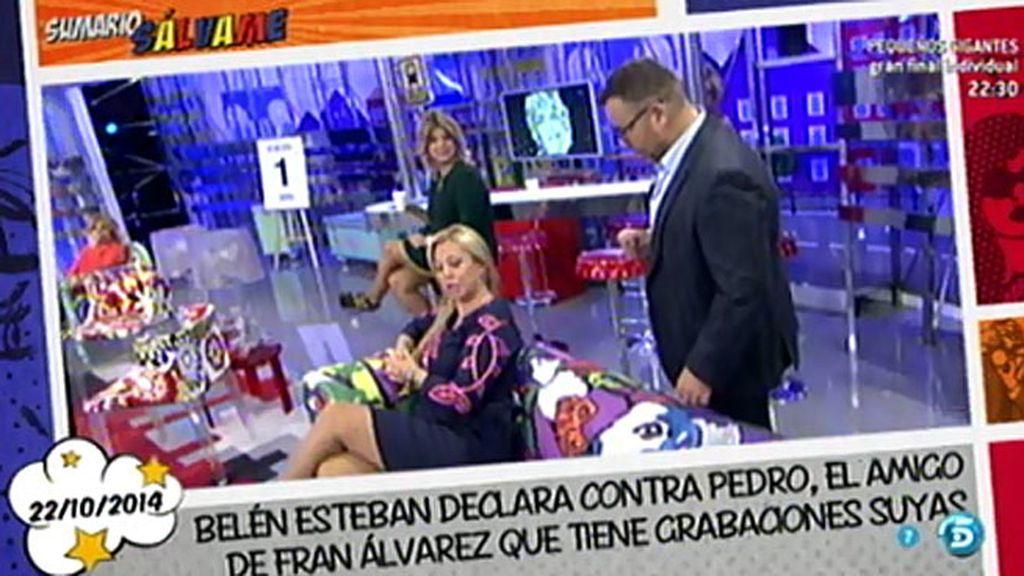 "Belén Esteban, a Jorge Javier: ""Estoy dispuesta a pujar por tu chester"""