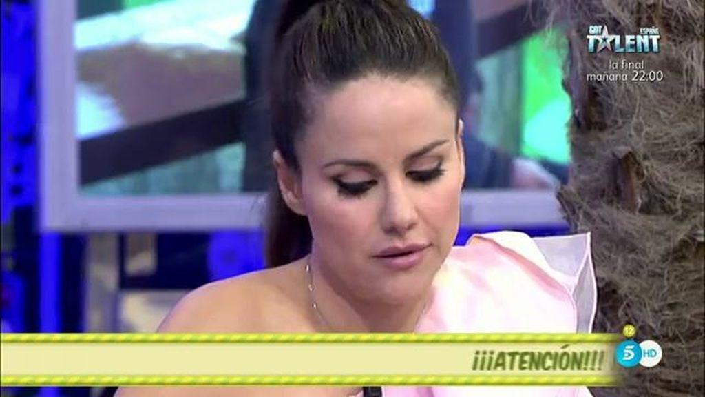 """Mónica Hoyos, a los colaboradores: """"Creo que me habéis dado mucha caña"""""""