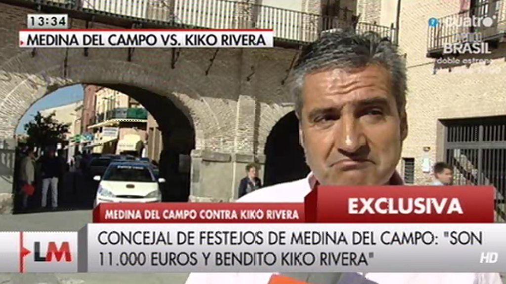 Polémica en Medina del Campo por los 5.500€ que cobrará Kiko Rivera