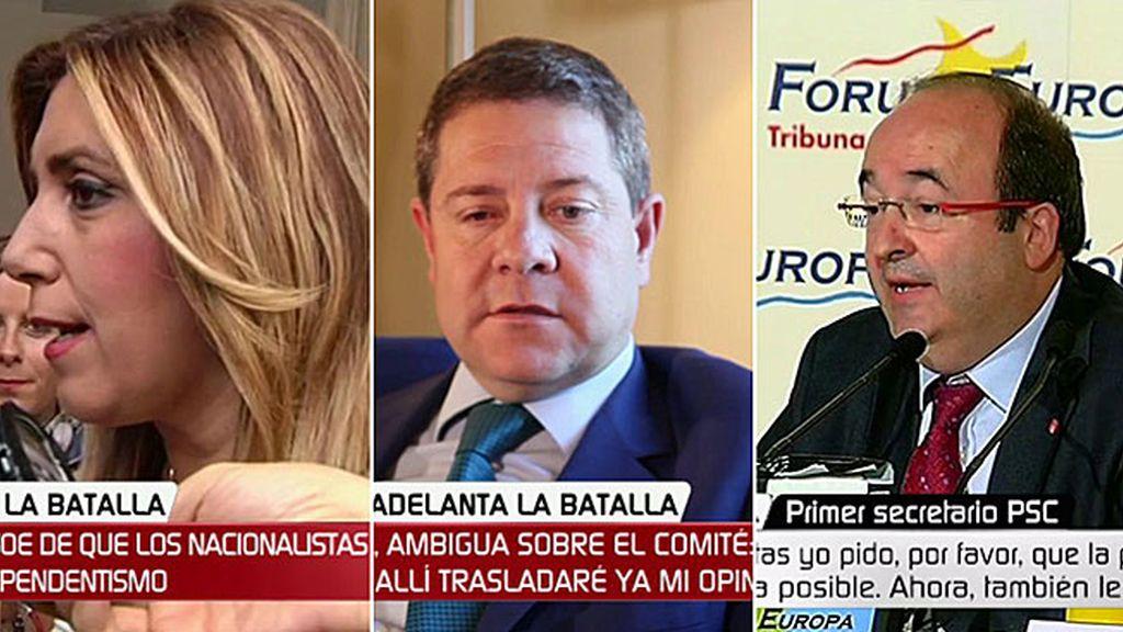 ¿Rechazan de nuevo los barones socialistas el pacto de izquierdas de Pedro Sánchez?