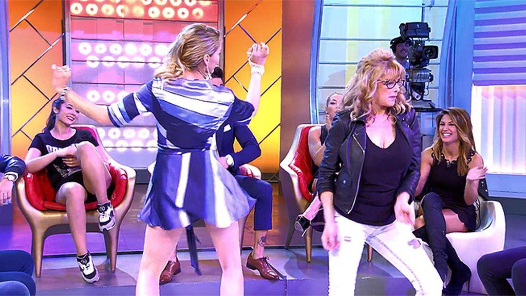 Perla y su madre, lo dan todo con su twerking