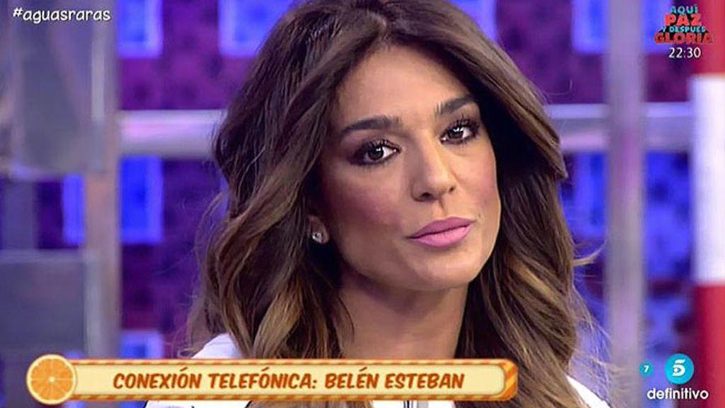 """Belén: """"He demandado al padre de Aguasantas por unos tuits vergonzosos"""""""