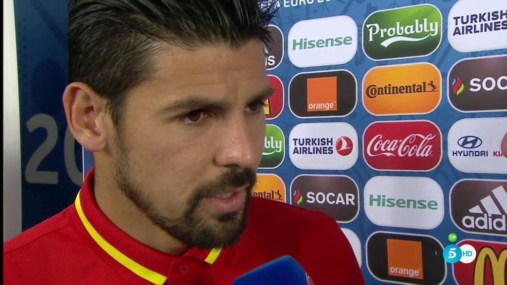 """Nolito: """"Nos toca Italia pero esto es una Euro y si pasas de ronda te tocan rivales difíciles"""""""