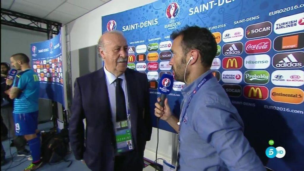 Del Bosque solucionará su futuro en una reunión con Villar