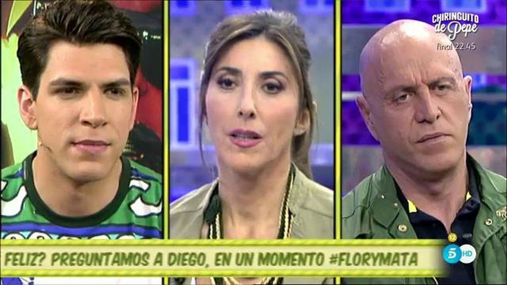 """Diego Matamoros, de su padre y su hermana: """"Quedaron en que van a hablar pero Laura tomará la decisión"""""""
