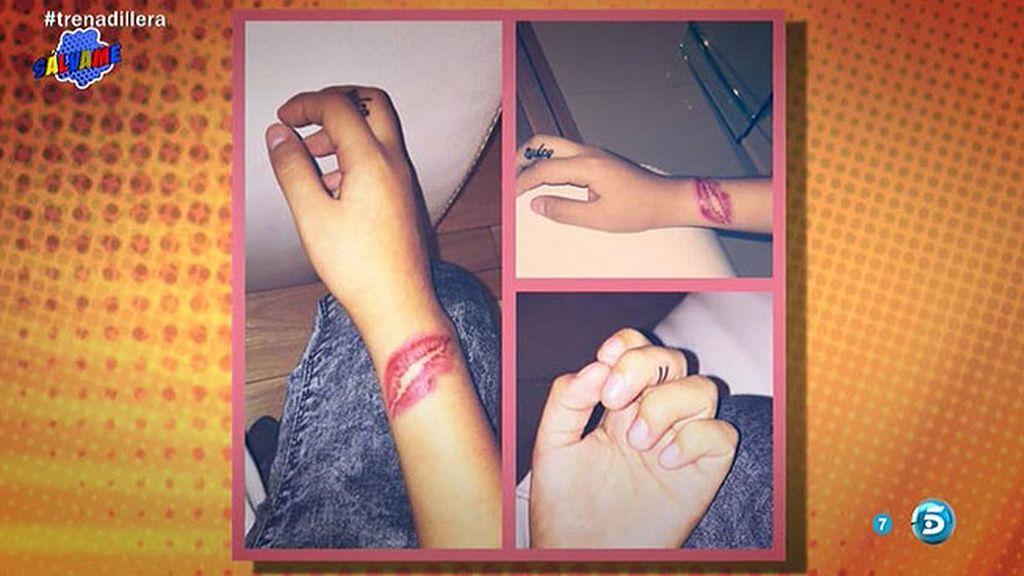 Los nuevos tatuajes de Chabelita dedicados a su madre y a Dulce