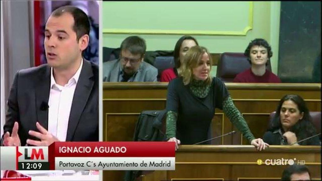 """Aguado: """"Creo que es una irresponsabilidad devolver la pelota a los españoles, ya han votado"""""""