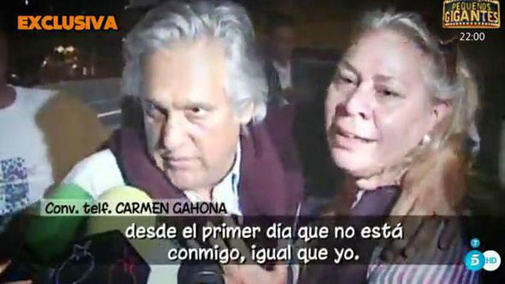 """Carmen Gahona: """"Siempre he dicho que Chiquetete y yo vamos a volver"""""""