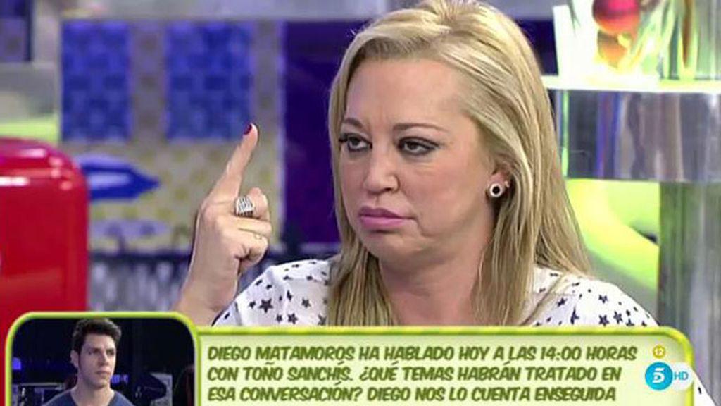 """Belén Esteban: """"Aquí hay dos barcos: en uno va Belén Esteban y en otro Lorena y Toño"""""""