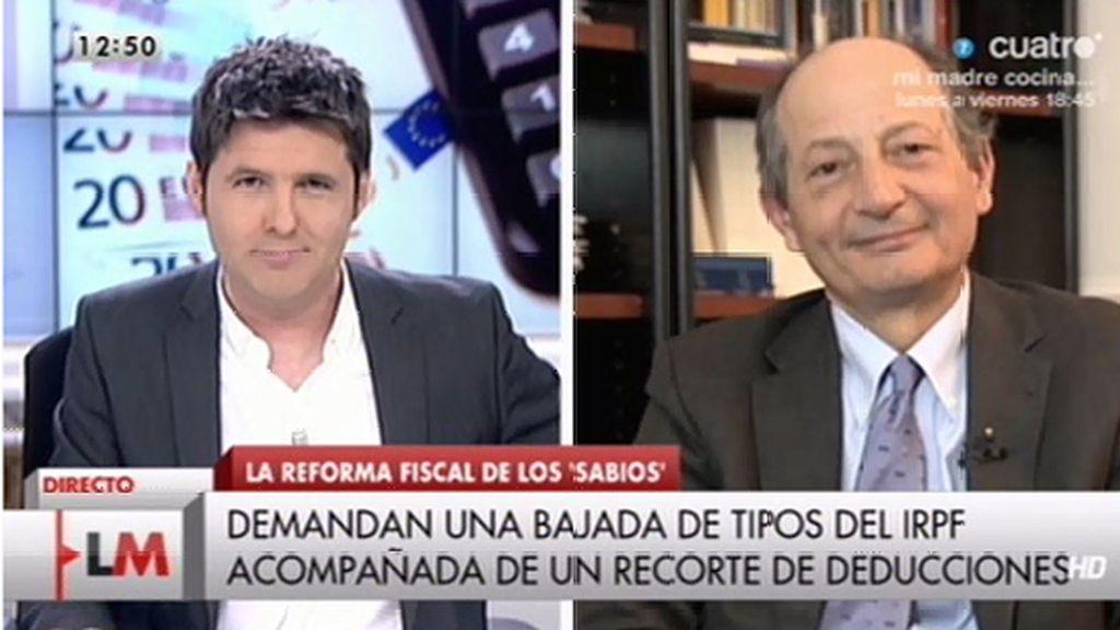La entrevista con el economista Fernando Fernández, online