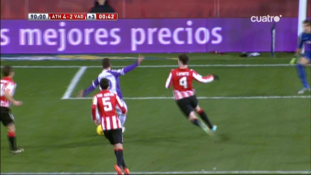 Gol de Rama (Athletic 4-2 Valladolid)