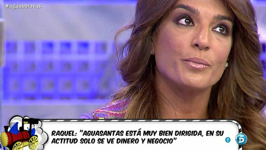 """Raquel Bollo, sobre Aguasantas: """"Si quieres volver con una persona, no la grabas"""""""