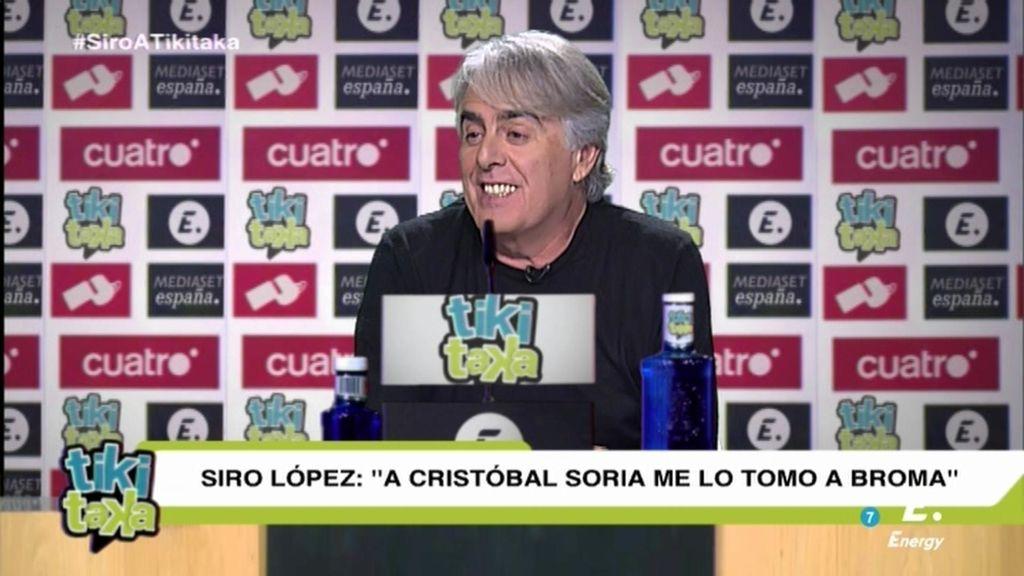La presentación completa de Siro López en Tiki Taka