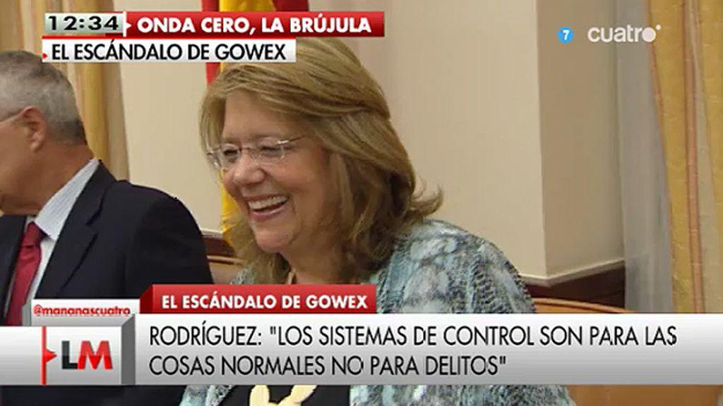 """Elvira Rodríguez, sobre el caso Gowex: """"Nadie puede asegurarse de que cuando salga por la calle no le peguen un tiro"""""""