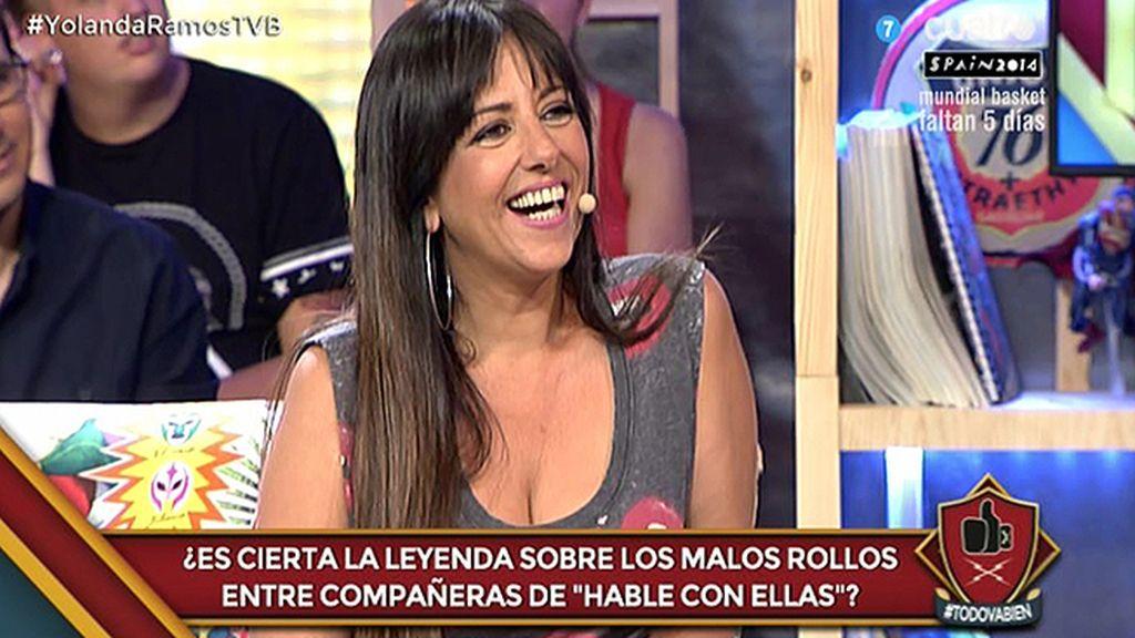 """Yolanda Ramos: """"Cuando escuchamos cantar a José Luis Moreno, nos dio la risa"""""""